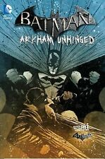 Batman Arkham Unhunged Vol 4 HC DJ 2014 DC Comics