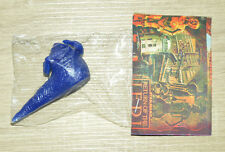 RARE 100% TOY MEXICAN FIGURE BOOTLEG STAR WARS JABBA BLUE MADE IN MEXICO
