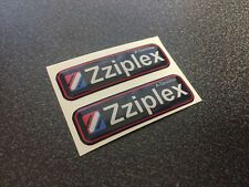 Zziplex domed 3D rare emblem sticker stickers decal decals 2x