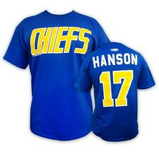 CHIEFS #17 HANSON brothers t-shirt SLAP SHOT movie