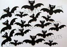 30 Halloween BAT Silhouette Die cut Embellishment Scrapbook, Cards, Party, Craft