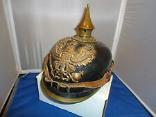 German WWI Prussian spike helmet vtg war military