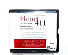 BOOK/AUDIOBOOK CD Mark Gillinov Cardiac Care Guide Self Help Tests HEART 411