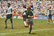 GERMANY HAND SIGNED RUDI VOLLER 12X8 PHOTO 3.