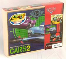 New Wood Puzzle 3 Pack Disney Pixar Cars 2 Jigsaw Puzzle Set **Xmas Gift Ideas**