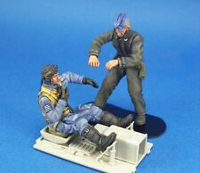 Legend Productions 1:24 WWII Luftwaffe BF-109 Pilot Mechanic 2 Figures #LF2403