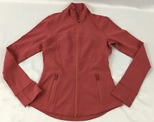 Lululemon Women's Athletic Define Jacket Slim Fit W4F82S Salmon Pink Size 6