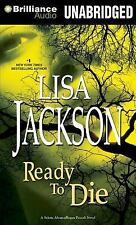 READY TO DIE unabridged audio book on CD by LISA JACKSON