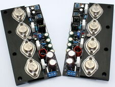 20W NO feedback Full DC Pure Class A amp board (2 channel )