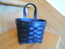 Longaberger Hang It Up Basket Black Stain New rare perfect gift *free shipping!*