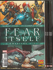 FEAR ITSELF N° 1 à 7 Marvel Panini Comics SERIE COMPLETE