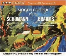 ONLY A PENNY - 1¢ CD - Imogen Cooper Plays Schumann & Brahms