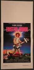 Locandina EINSTEIN JUNIOR 1°ED.ITAL.1990 YAHOO SERIOUS, JOHN HOWARD