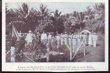 1933  --  ILES SOUS LE VENT  UTUROA MONTAGNE SUR LA TOMBE DE MORILLOT   £330