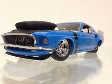 Franklin / Danbury Mint 69 Mustang Boss Nine Pro Street Muscle Machine 1:24