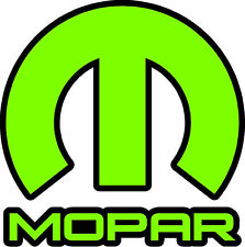 MOPAR sticker decal small Lime Green Ram 1500 Ram 2500 Charger Challenger