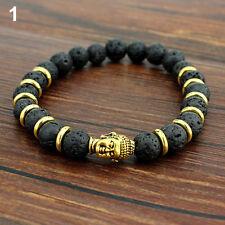 * BUDDHA - LAVA - GOLD - ARMBAND - TIBET - YOGA - ENERGIEARMBAND - DALAI LAMA *