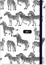 2017 Diary Zebra 16 Month Academic Weekly Planner By Peter Pauper