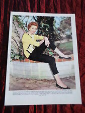 DEBORAH KERR - FILM STAR - 1 PAGE  PICTURE- CLIPPING/CUTTING