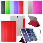 Slim PU Leather Cover Case For Samsung Galaxy Tab A / E Tab S / S2 8