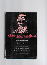 THE VAMPIRE: HIS KITH AND KIN by MONTAGUE SUMMERS, HB, DJ, 1960, Illustrated. .