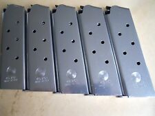 1911 Hybrid mag, magazine, mags  5- Stainless Steel , 8 shot, USA, .45 caiber.