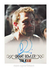 TRUE BLOOD ARCHIVES 2013 GRANT BOWLER AUTOGRAPH
