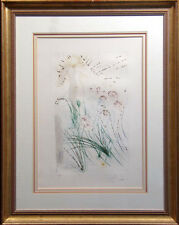 "Salvador Dali, from Song of Songs of Solomon ""I Am My Beloved"" Hand Signed Art"