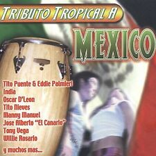 TRIBUTO TROPICAL A MEXICO - 15 TRACK MUSIC CD - NEW SEALED - G689