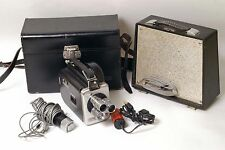 F4401~ Fairchild Cinephonic Eight Movie Camera Outfit & Speaker Mic Access