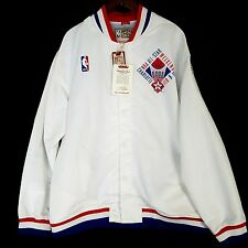 100% Authentic Mitchell Ness 1991 NBA All Star Warm Up Jacket 48 XL - jordan 91