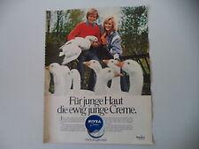 advertising Pubblicità 1973 NIVEA CREME CREMA