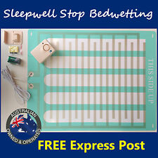 Bed Wetting Alarm Mattress LARGE Mat Bedwetting Enuresis Child Kid Urine Sensor