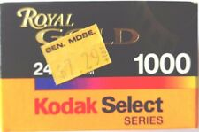 1 x KODAK ROYAL GOLD 1000 35mm COLOUR PRINT FILM EXPIRED 2000  LOMOGRAPHY FILM