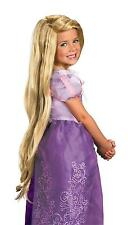 GIRLS RAPUNZEL TANGLED LONG BLONDE WIG COSTUME DRESS UP DG13745