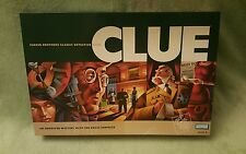 2002 HASBRO PARKER BROTHERS CLUE CLASSIC DETECTIVE BOARD GAME COMPLETE