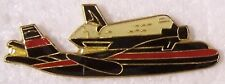 Hat Tie Tac Pin Airplane NASA Space Shuttle piggyback on a Boeing 747 NEW