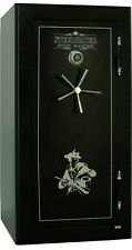 HD593024 Steelwater Home Hunting Safes 2hour Fire Gun Rifle 22 Safe Dial Black
