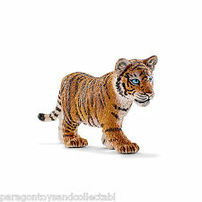 Schleich Asia Wild Life - TIGER CUB STANDING 14730 - New with Tag