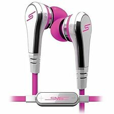 SMS Audio STREET By 50 Cent In-Ear Headphones With Mic - Pink