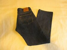 MEN'S LEVIS 501 BLUE JEANS STRAIGHT LEG BUTTON FLY SIZE 32x32 VERY NICE PANTS !!