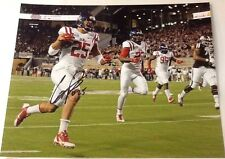 Cody Prewitt Signed 8x10 Football Photo Ole Miss W/ COA & Proof Photo B