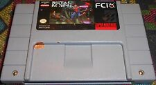 Metal Morph Super Nintendo Lowest Price on eBay SNES Tested Fun Rare Game