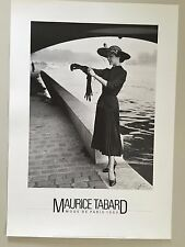 MAURICE TABARD, 'MODE DE PARIS,1950' FASHION POSTER, AUTHENTIC 1986 PHOTO PRINT