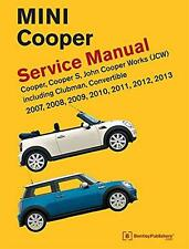 BMW NEW MINI R55 R56 R57 COOPER S CLUBMAN JCW CONVERTIBLE Owners Manual Handbook
