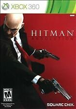 Xbox 360 Hitman Absolution The Contract NEW Sealed REGION FREE USA English