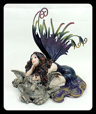 Fairy with Troll Resin Figurine Collectible Fantasy