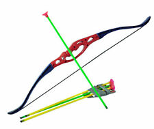 Childrens Kids Kingfisher Archery Bow And Arrow Set Outdoor Garden Toy Game SF19