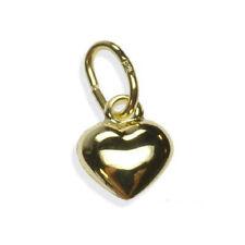 ECHT GOLD *** Herz Anhänger winzig 5 mm