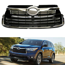 For Toyota Highlander 2014-2016 High Quality ABS Front Grille Grill Mesh